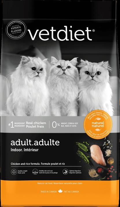 Vetdiet - Adulte – Intérieur poulet