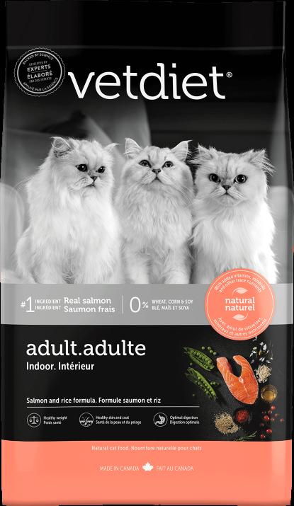 Vetdiet - Adulte – Intérieur saumon