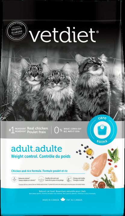 Vetdiet - Adulte – Contrôle du poids