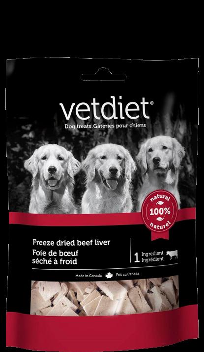 Vetdiet - Foie de boeuf séché à froid