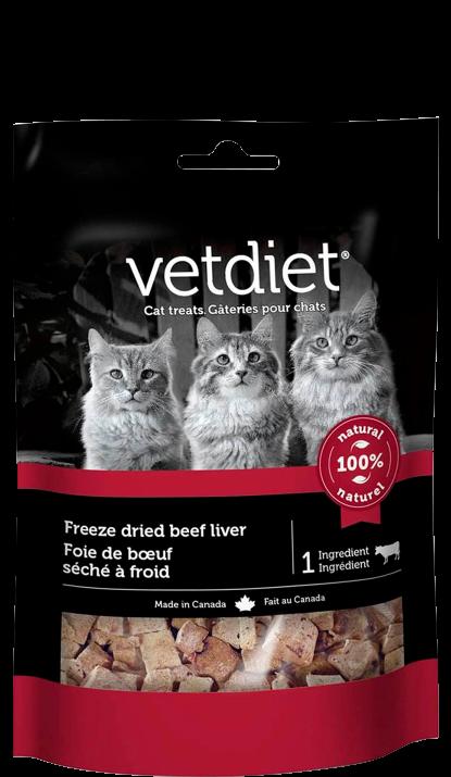 Vetdiet - Foie de bœuf séché à froid