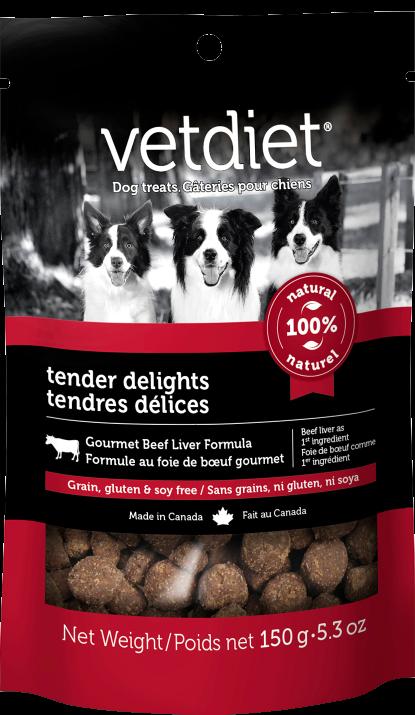 Vetdiet - Tendres délices – Formule au foie de bœuf gourmet